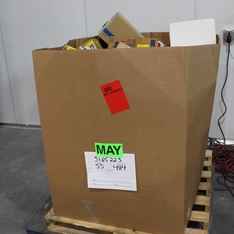 Clearance! Pallet - 842 Pcs - Hardware, Power Tools, Accessories, Automotive Parts - Brand New - Retail Ready - Cooper Bussmann, USP, Square D by Schneider Electric, Legrand
