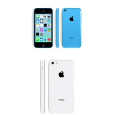 5 Pcs – Apple iPhone 5C – Refurbished (GRADE C – Unlocked) – Models: ME597LL/A, ME541LL/A