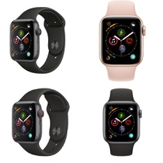 118 Pcs - Apple Watch Gen 4 - Refurbished (GRADE A) - Models: MU6D2LL/A, MTUW2LL/A, MU682LL/A, MTUG2LL/A