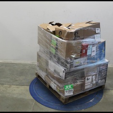 Pallet - 149 Pcs - Lighting & Light Fixtures, Home Security & Safety, Accessories, Receivers, CD Players, Turntables - Customer Returns - Mainstays, Ozark Trail, CROSLEY , Samsung