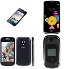 Pallet - 91 Pcs - Mobile Phones & Smartphones - Tested NOT WORKING - Huawei, LG, ALCATEL, Samsung