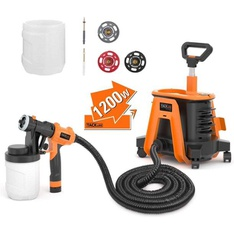 Pallet - 35 Pcs - Tacklife Paint Sprayer with 1200W High Power - Easy To Use & Wash - Brand New - Retail Ready
