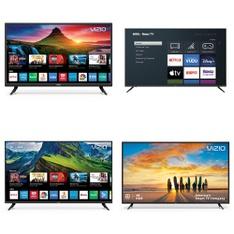 45 Pcs – LED/LCD TVs – Refurbished (GRADE C) – VIZIO, Samsung, TCL, onn.