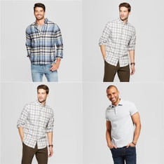 150 Pcs - Men`s T-Shirts, Polos, Sweaters - New - Retail Ready - Goodfellow & Co, Blue 84, Image One, FOCO
