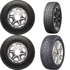 Pallet – 13 Pc(s) – Tires, Automotive Parts – Customer Returns – Goodyear