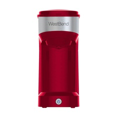 27 Pcs – West Bend 56901TL Single Serve Coffee Maker – Red – New – Retail Ready