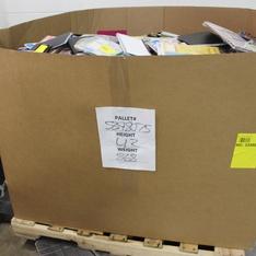 Pallet - 1204 Pcs - Office Supplies, Calendars - Customer Returns - Blue Sky, AT-A-GLANCE, Moleskine, Lang