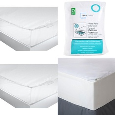 3 Pallets - 69 Pcs - Covers, Mattress Pads & Toppers, Comforters & Duvets, Air Conditioners, Bedding Sets - Customer Returns - Mainstay's, American Textile, Aller-Ease, De'Longhi