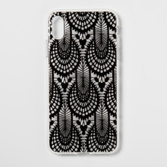 26 Pcs - Heyday Apple iPhone XS Max Case, Black Lace - New, Like New, Used, New Damaged Box, Open Box Like New - Retail Ready