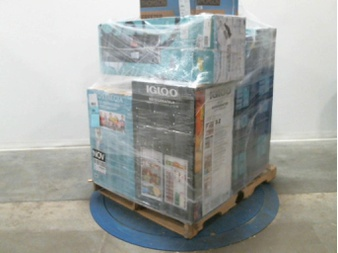 Pallet – 6 Pcs – Bar Refrigerators & Water Coolers, Refrigerators, Freezers, Slow Cookers, Roasters, Rice Cookers & Steamers – Customer Returns – Primo Water, Igloo