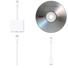 Pallet - 348 Pcs - Other, Accessories - Customer Returns - Apple, Verbatim, Logitech, CYBERPOWER SYSTEMS