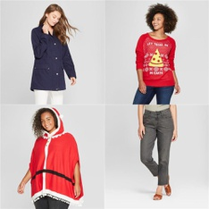 250 Pcs - Underwear, Intimates, Sleepwear & Socks, T-Shirts, Polos, Sweaters & Cardigans - New - Retail Ready - Universal Thread, Well Worn, A New Day, Gilligan & O'Malley