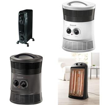 Truckload – 26 Pallets – 1671 Pcs – Heaters, Fans, Accessories – Customer Returns – Mainstay's, Honeywell, Utility, Lasko