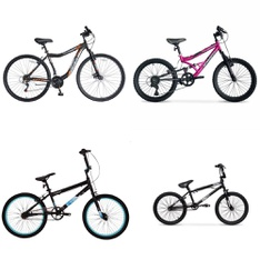 Pallet - 5 Pcs - Cycling & Bicycles - Customer Returns - Hyper Bicycles, Movelo, Hyper, Huffy Bicycle