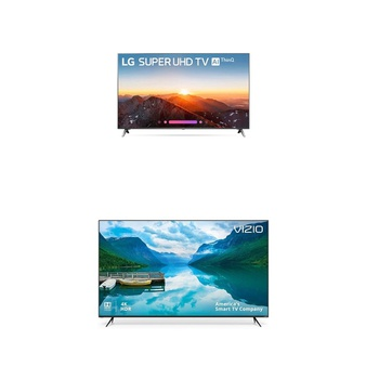 8 Pcs – LED/LCD TVs (58″ – 65″) – Refurbished (GRADE A, GRADE B) – LG, VIZIO