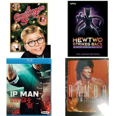 54 Pcs - Movies & TV Media - New - Retail Ready - Warner Brothers, Paramount, Lionsgate, Lionsgate Home Entertainment