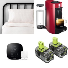 25 Pcs - Hardware, Sheets, Pillowcases & Bed Skirts, Tool Accessories, Pet Toys & Pet Supplies - Damaged/Missing Parts - Hearth & Hand with Magnolia, Farberware, RYOBI, HILLMAN GROUP