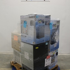 Pallet - 7 Pcs - Bar Refrigerators & Water Coolers, Air Conditioners - Customer Returns - Galanz