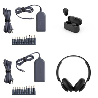 Pallet – 388 Pcs – Other, Power Adapters & Chargers, Over Ear Headphones, Keyboards & Mice – Customer Returns – onn., Onn, Anker, Electronic Arts