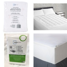 3 Pallets – 159 Pcs – Covers, Mattress Pads & Toppers, Comforters & Duvets, Vacuums, Sheets, Pillowcases & Bed Skirts – Customer Returns – Mainstay's, Aller-Ease, Mainstays, Beautyrest
