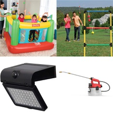 Pallet – 34 Pcs – Outdoor Play, Patio & Outdoor Lighting / Decor – Customer Returns – Fisher-Price, Better Homes & Gardens, EastPoint Sports, Go! Gater