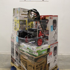Pallet - 13 Pcs - Pressure Washers, TV Stands, Wall Mounts & Entertainment Centers - Customer Returns - Karcher, Onn, QFX