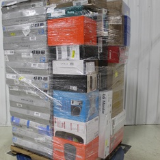 Pallet – 52 Pcs – Monitors, Speakers, All-In-One – Customer Returns – HP, LG, Onn, Canon