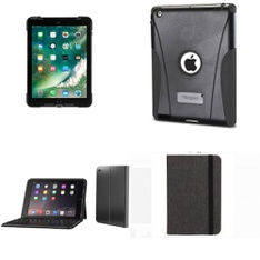 113 Pcs - Tablet Accessories - Used, Like New, Open Box Like New - Targus, Zagg, Blackweb, Urban Armor Gear Inc.