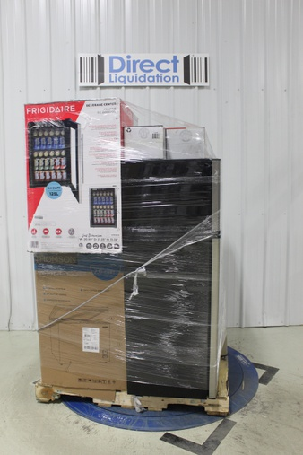 Pallet – 6 Pcs – Refrigerators, Heaters, Freezers – Customer Returns – Thomson