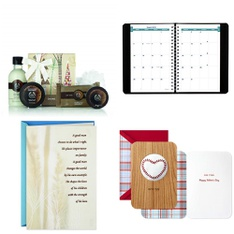 Pallet – 597 Pcs – Office Supplies, Stationery & Invitations, Arts & Crafts, Kitchen & Dining – Customer Returns – Hallmark, Brownline, AT-A-GLANCE, American Greetings