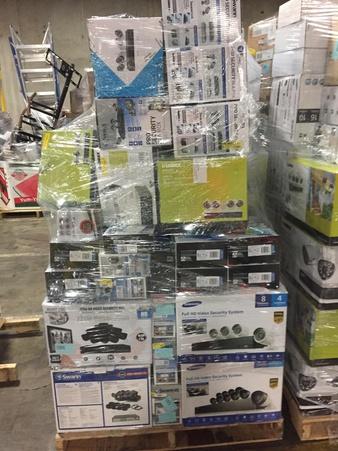 Truckload – 26 Pallets – General Merchandise (Walmart) – Customer Returns