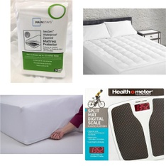 3 Pallets – 225 Pcs – Covers, Mattress Pads & Toppers, Kitchen & Dining, Comforters & Duvets, Camping & Hiking – Customer Returns – Mainstay's, Mainstays, Aller-Ease, Beautyrest