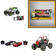 3 Pallets – 67 Pcs – Vehicles, Trains & RC, Vehicles, Not Powered – Customer Returns – New Bright, Jada Toys, PAVATI, Huffy