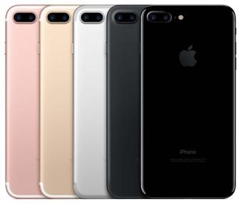 5 Pcs – Apple iPhone 7 Plus 32GB – Unlocked – Certified Refurbished (GRADE A)