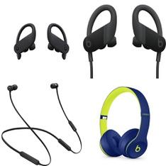 100 Pcs – Apple Beats Headphones – Refurbished (GRADE D, No Packaging) – Models: MV6Y2LL/A, MTH52LL/A, MWNV2LL/A, MRET2LL/A