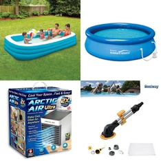 Truckload - 711 Pcs - Pools & Water Fun, Camping & Hiking, Humidifiers / De-Humidifiers, Outdoor Sports - Customer Returns - Play Day, As Seen On TV, PolyGroup, Coleman