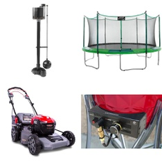 Pallet – 7 Pcs – Patio & Outdoor Lighting / Decor, Mowers – Customer Returns – Nearly Natural, Vision Grills, Upper Bounce