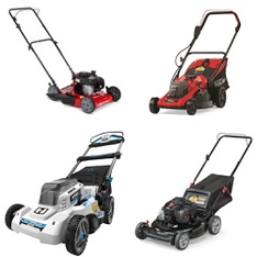 3 Pallets – 15 Pcs – Lawn Mowers – Customer Returns – Hyper Tough, Murray, Hart, Blackstone