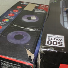 Pallet - 14 Pcs - Portable Speakers - Tested NOT WORKING - Monster, Ion, Blackweb, ION Audio