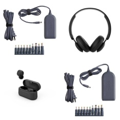 Pallet – 318 Pcs – Over Ear Headphones, Power Adapters & Chargers, Other, Keyboards & Mice – Customer Returns – onn., Onn, Monster, Hyper Tough