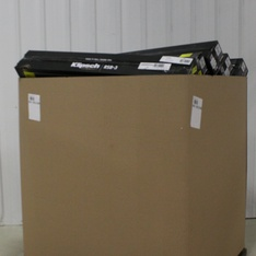 Pallet – 143 Pcs – Speakers, DVD Discs, Drones & Quadcopters Vehicles, In Ear Headphones – Customer Returns – Onn, Klipsch, UIE, JBL