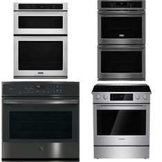Lowes - 26 Pcs - Laundry, Ovens / Ranges, Refrigerators, Toasters & Ovens - Customer Returns - Frigidaire, WHIRLPOOL, GE, Maytag