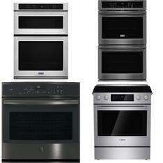 Lowes - 26 Pcs - Laundry, Ovens / Ranges, Refrigerators, Toasters & Ovens - Customer Returns - Frigidaire, WHIRLPOOL, GE, Maytag