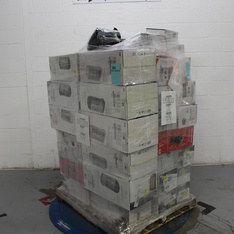 3 Pallets - 143 Pcs - Heaters, Curtains & Window Coverings - Customer Returns - Mainstay's, Honeywell, Better Homes and Garden
