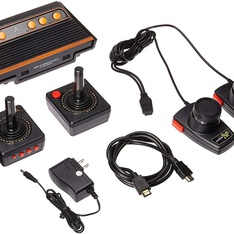 28 Pcs - Atari Flashback 8 Gold Console HDMI 120 Games 2 Wireless Controllers- Refurbished (GRADE A)