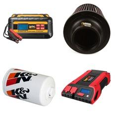 Pallet – 81 Pcs – Automotive Parts, Automotive Accessories – Customer Returns – EverStart, K&N, K&N Engineering, K & N ENGINEERING