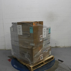 3 Pallets – 663 Pcs – In Ear Headphones, Boombox, Shelf Stereo System, Receivers, CD Players, Turntables – Customer Returns – Blackweb, Onn, Anker, GN Netcom