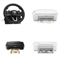 Pallet – 23 Pcs – All-In-One, Monitors, Speakers – Customer Returns – Canon, HP, HORI Store, Samsung