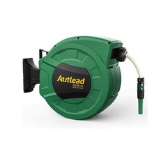 Pallets - 25 Pcs - AUTLEAD WHR01A Retractable Water Garden Hose Reel, Green - Brand New - Retail Ready