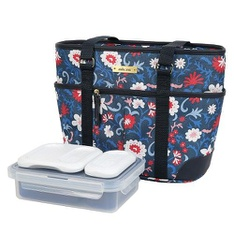 18 Pcs – Arctic Zone Ladies Lunch Tote Insulated Bucket – Florance Floral – New – Retail Ready